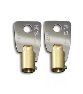 Replacement Keys for 02 Gunvault Safes 2-Keys Gunvault safe key