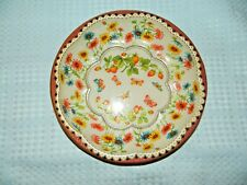 Daher Decorated Ware Tin Serving Bowl