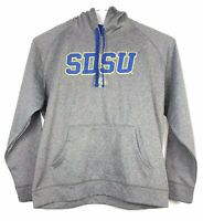 Men's Champion Embroidered SDSU Jackrabbits Jacket Hoodie Hooded Sweatshirt XL