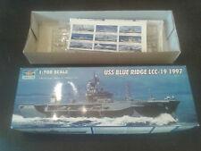 Maquette BATEAU TRUMPETER USS BLUE RIDGE LCC-19 1997 1/700 ref. 05715