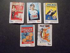 2014 Australia Self Adhesive Post Stamps~Advertisements~Fine Used, UK Seller