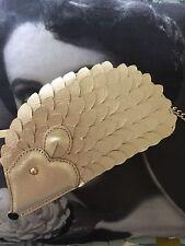 Kate Spade Creme de la Creme Metallic Gold Hedgehog Crossbody Bag