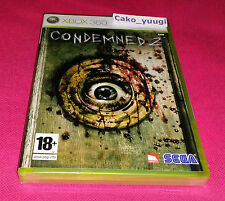 CONDEMNED 2 XBOX 360 NEUF SOUS BLISTER VERSION 100% FRANCAISE