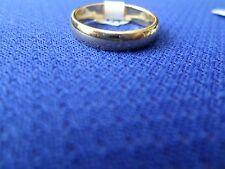 Wedding Band Plain, comfort fit, medium weight, 14k solid yellow gold