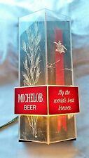 Vintage Michelob Light Up Bar Sign Collectible Beer Advertising mancave Vintage