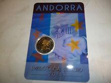 2 EURO Gedenkmünze ANDORRA 2015 -  Zollunion - Coincard - Top