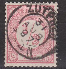 NVPH Netherlands Nederland nr 30 TOP CANCEL ZUTPHEN Cijfer 1876