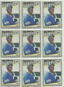 1989 Fleer Ken Griffey Jr RC lot Seattle Mariners Rookie cards HOF