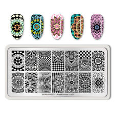 BORN PRETTY Nail Art Stamping Plate Mandala Pattern Decoration Arab Passion-L001