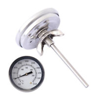 Barbecue Thermometer Gauge 50-500℃ Stainless Steel BBQ Smoker Grill Thermometer