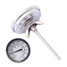 BBQ Räucher Thermometer für Räucherofen Smoker Räucherthermometer 0℃~300℃ Accs