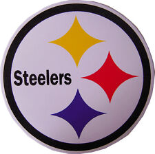 New 5 NFL Pittsburgh Steelers logo Football stickers/decals. 3.75 inch.