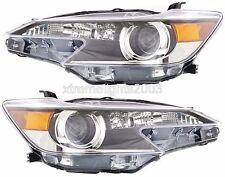 SCION TC 2014-2015 PAIR LEFT RIGHT HEADLIGHTS HEAD LIGHT FRONT LAMP NEW WARRANTY