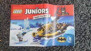 Lego Juniors Batman versus Mr Freeze  10737