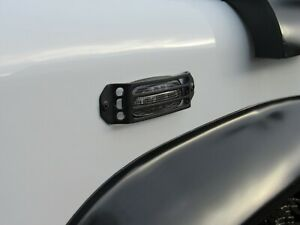 Land rover Discovery 2 Defender & Freelander side repeater indicator guards