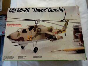 "Vintage Testors / Italeri 1/72 Scale Mil Mi-28 ""Havoc"" Gunship open box new"