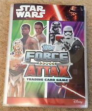 Star Wars Force Attax The Force Awakens Full Set + 2 x Limited Edition + binder