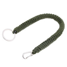 Survival Überleben Paracord Schlüsselanhänger aus Nylon Gürtelschnalle 30cm