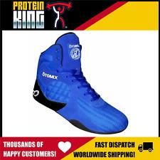 OTOMIX STINGRAY ROYAL BLUE GYM SHOES US-9 FLAT SOLE TRAINING MMA LIFTING SHOE