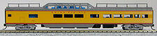 N Budd Passenger P-S Mid-Train Dome Car Union Pacific (Yellow/Grey) (1-041539)
