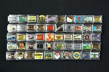 Italian Charms 50 assorted Stainless Steel Wholesale Lot 9mm  (C50-143)