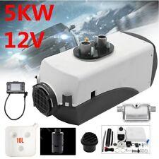 5KW 12V Air diesel Auto Heizung Luft Standheizung + LCD Schalter +Schalldämpfer