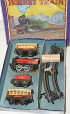 HORNBY O GAUGE MO PASSENGER SET IN LMS RED LIVERY