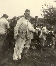 WWII German RP- Army Soldier- In the Field- Work Uniform- Kitchen Field Stove