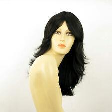 Perruque femme longue brun foncé ZOE 2