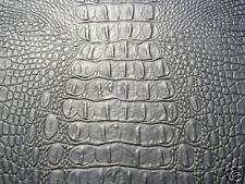 CROCODILE / ALLIGATOR SKIN-HIDE EXOTIC PREMIUM VINYL