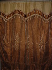 Embroidered Panel Curtain 2 Layers - 2 colors W. Franch **NEW** Juscano