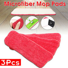 3Pcs Household Dust Cleaning Reusable Microfiber Pad Replacement For Spray Mop
