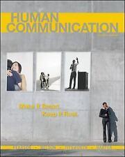 Human Communication by Pearson, Judy, Nelson, Paul, Titsworth, Scott, Harter, L