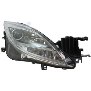 Headlight For 2009-2010 Mazda 6 S GT GS i Models Right Clear Lens