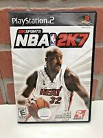 NBA 2K7 Sony PlayStation 2 (PS2) 2K Sports Game Shaq - Tested Complete