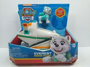 Paw Patrol Everest Snow Plow Vehicle with Collectible Figure FREE SHIPPING