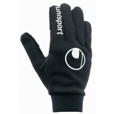 12.99 NEW Uhlsport goalkeeper  Football Outfield Warm Gloves Black  FREEPOST