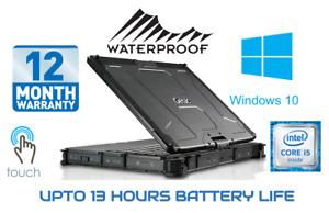 GETAC WINDOWS 10 Rugged Laptop V110  i5 Touch 8GB RAM 128GB SSD Notebook