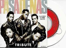 "THE PASADENAS - Tribute 3"" Inch CD SINGLE 4TR Holland (CBS) 1988"