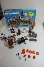Playmobil Knight Special Deluxe Vintage Set 1303 w box horses carriage
