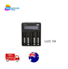 Efest Luc V4 Smart Universal LITHIUM Battery charger Li-Ion LI-MN IMR 18650 2070