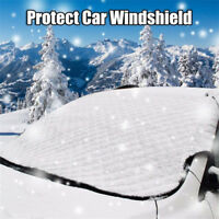 Large Heavy Duty Windscreen Cover Protect From Snow Frost Ice Screen Windshield