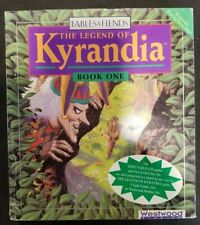 "Westwood Studios - Legend of KYRANDIA Book One + BONUS CDs/POSTER 3.5""  Untested"