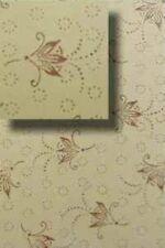 Floral Trunk Liner Chest Steamer antique furniture restore inside paper vintage