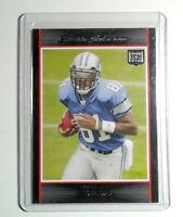 2007 Bowman #145 Calvin Johnson Rookie Football Card Detroit Lions RC