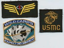SAAB - Space: Above & Beyond Patch Set - Angry Angels, USMC, Wild Cards