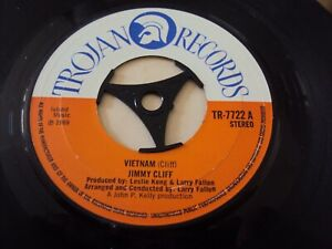 "JIMMY CLIFF ""VIETNAM"" VG 1969 UK TROJAN 7"" VINYL SINGLE"