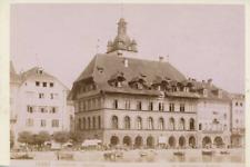 Suisse Canton de Lucerne Lucerne Vintage print, Carte Cabinet Tirage argentiqu