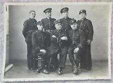 Photo 1940 Gardien de la Paix Belge Toulouse France - police gendarme 40-45 ww2
