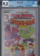 MARVEL TAILS #1 CGC 9.2 NM- 1ST APPEARANCE OF PETER PORKER SPIDER-HAM 1983 MOVIE